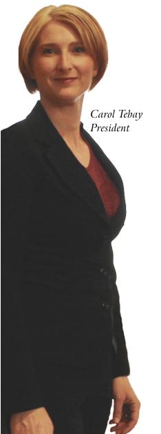 Carol Tebay : President